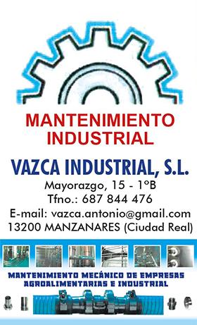 VAZCA INDUSTRIAL S.L.