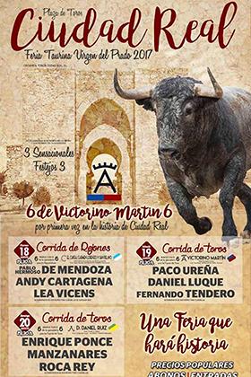 FERIA TAURINA VIRGEN DEL PRADO – CIUDAD REAL 2017