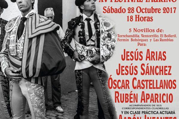 EL TRADICIONAL FESTIVAL TAURINO DE ALCÁZAR YA TIENE CARTEL