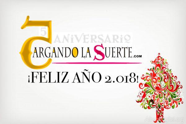 EL EQUIPO DE CARGANDO LA SUERTE LE DESEA UN FELIZ AÑO 2018