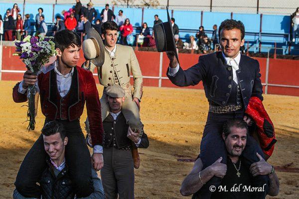 ENTRETENIDO FESTIVAL TAURINO EN CARRIÓN DE CALATRAVA