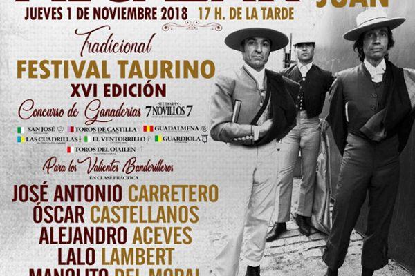EL XVI FESTIVAL TAURINO DE ALCÁZAR DE SAN JUAN CERRARÁ LA TEMPORADA EN LA PROVINCIA DE CIUDAD REAL