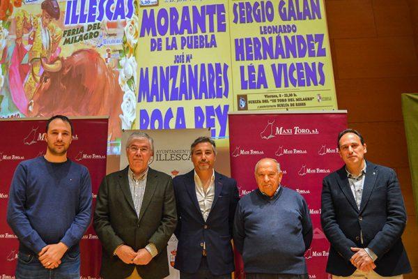 """MORANTE, MANZANARES Y ROCA REY, EL """"MILAGRO"""" DE ILLESCAS"""