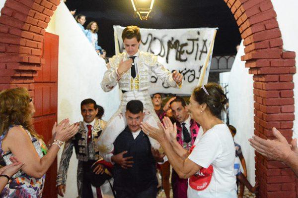 JESÚS MEJÍAS TRIUNFO ROTUNDO EN TORRALBA DE CALATRAVA