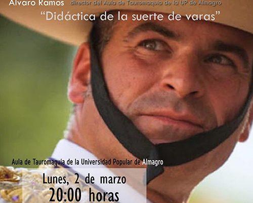PEDRO ITURRALDE ESTARÁ EL DÍA 2 DE MARZO EN EL AULA TAURINA DE LA U.P.A.