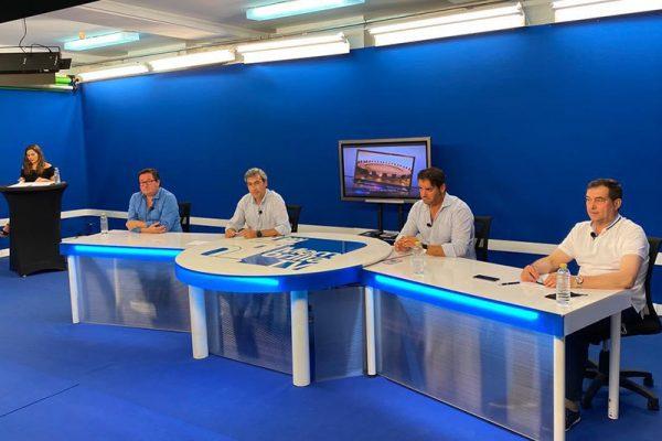 TERTULIA TAURINA EN EL PROGRAMA SOBRE LA MESA DE MEMBRILLA TV