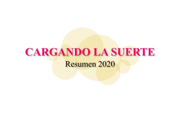 Resumen taurino 2020 de Cargando La Suerte