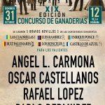 EL CARTEL DEL FESTIVAL DE ALCÁZAR YA TIENE PROTAGONISTAS